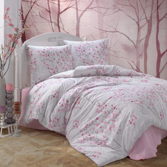 bettwaesche-rosa-pink-gebluemt-100-baumwolle-renforce-verdeckter-reissverschluss-atmungsaktiver-2-teilig-bettbezug-set-mit-kissenbezug-80x80-cm-salida-v2