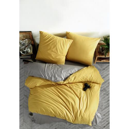 bettwaesche-135x200-cm-2-teilig-set-gelb-grau100-baumwolle-renforce-verdeckter-reissverschluss-atmungsaktiver-wende-bettbezug-unifraben-set-mit-kissenbezug-80x80-prestige-v5