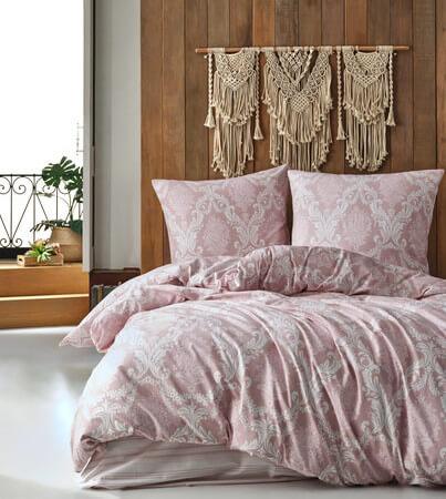 bettwaesche-200x220-cm-3-teilig-set-rosa-100-baumwolle-renforce-mit-reissverschluss-atmungsaktiver-bettbezug-weiss-barock-gemustert-kissenbezug-80x80-cm-fiorita-v1